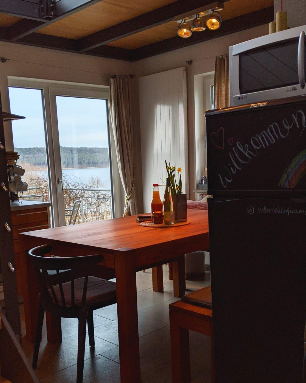 Siebenschlaefer am See, Ramsberg Ferienhaus Ferienwohnung Fränkisches Seenland